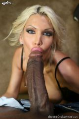 Fuck Doll Bimbo and a Big, Black Cock! (Real Big!!...