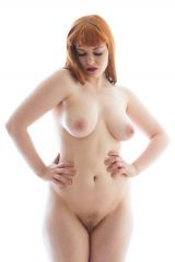 natural figure, probably fake ginger