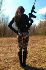 Gotta love a girl with a gun