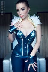 Kay Morgan in Brigitte More Latex