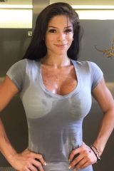 Michelle Lewin making sweat look sexy