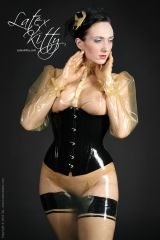 Transparent latex allll over