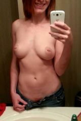Whoopsie. Lets try again: Topless in jeans [F]rid...