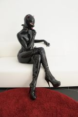 Catwoman as......The Thinker