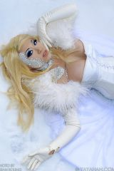 Another great pic of Yaya Han as Emma Frost