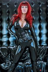 Bianca Beauchamp sultry in black