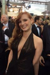 Jessica Chastain [Golden Globes]