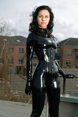 Nothing is sexier than black latex