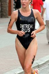 Russian professional triathlete, Olga Alekseyevna ...
