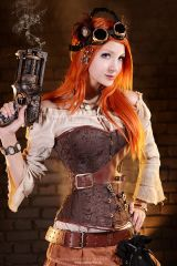Steampunk Red
