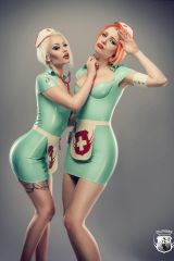Ulorin Vex and Romanie Smith, Latex Nurses