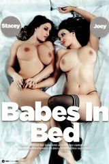 Stacey Poole and Joey Fisher in bed
