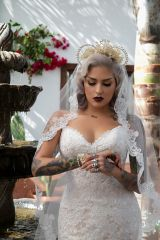 Inked bride (from /r/makeupfetish)