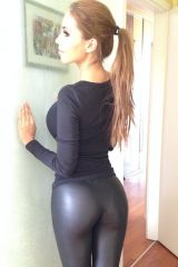 Dat Ass in shiny leggings (from /s/shinypants)
