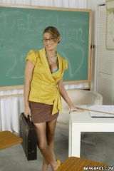 I would like to have had her as a teacher