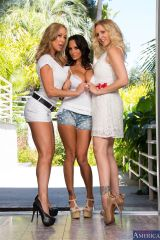 Ava Addams, Julia Ann and Brandi Love