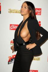 Nabilla Benattia letting it all hang out