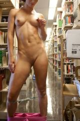 Library nude