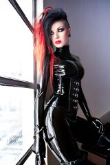 Alerah Von Snatch, catsuit and corset