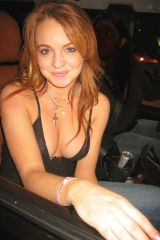 Lindsay Lohan before she fell into temptation.