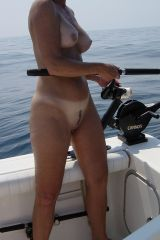 Milf gone fishin