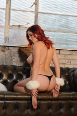 Lucy Collett from behind