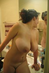 Bathroom nude