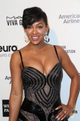 Meagan Good at Oscar party