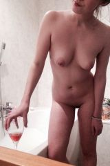 Bath and wine, any takers? (F)