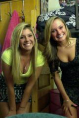 Dorm room blondes.