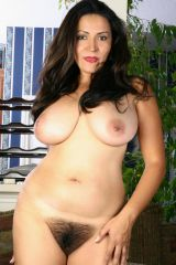 Latina mature with bush
