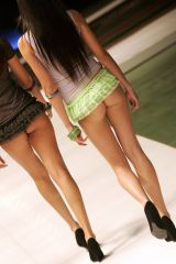 The shortest skirts