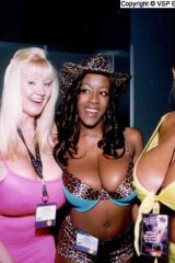 4 busty models from 1999 in one pic (Low Q)