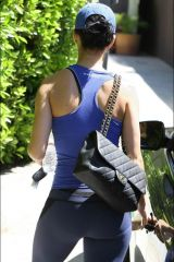Katy perry right after the gym
