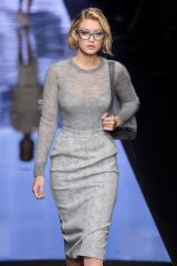 Gigi Hadid on the runway