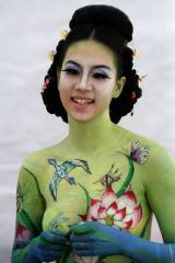 Bodypaint - Insects and Bird