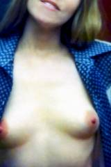 Vintage MILFs little tits with big areolas