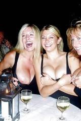I guess hot women with big tits like to hang out t...