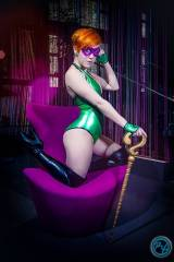 The Riddler cosplay by Dezi Desire