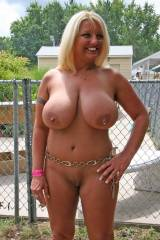 Natural mature nudist