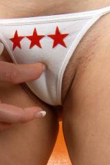 Cotton panty cameltoe