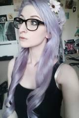 [OC] Lavender is my new favourite hair colour