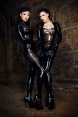 Jade Vixen and Sister Sinister