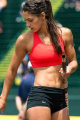 Allison Stokke, Pole Vaulter