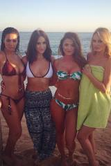 Holly Peers, Rosie Jones, India Reynolds and Rhian...