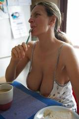 Titties for breakfast
