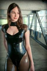 I like latex on girls who look too innocent to be ...