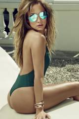 Jennifer Lopez thong swimsuit US magazine