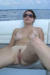 Chick on a boat (1 MIC)