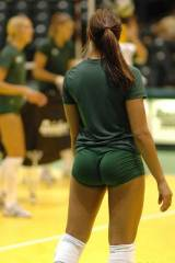 I support womens volleyball!
